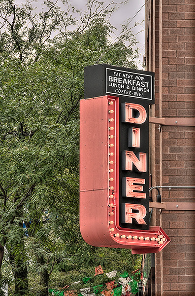 Old Diner Sign