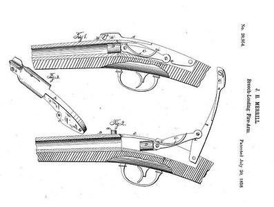 20,954 - Improvement in Breech-Loading Firearms (July 20, 1858)