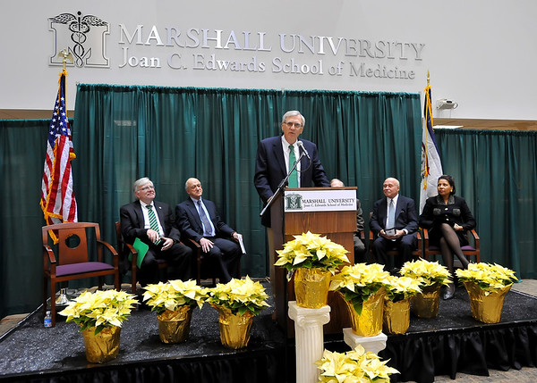 12.06.11 Dedication Ceremony for the Charles H. McKown, Jr., MD Translational Genomic Research Institute