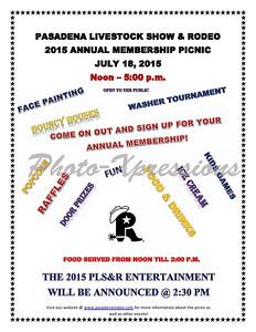 Annual Membership Picnic 2015