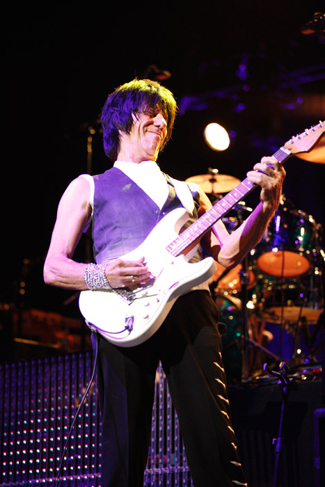 Description of . Jeff Beck performs at the Fox Theatre in Detroit on Friday, Oct. 25, 2013. Photo by Ken Settle