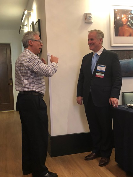 Dan Rosefelt and FLAA-CPA President James Sutto