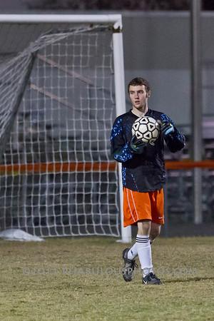 University @ Boone Boys JV Soccer - 2012