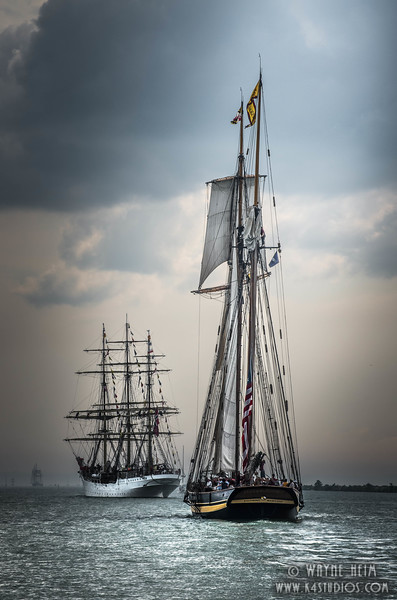 Parade of Tall Ships - 2   Photography by Wayne Heim