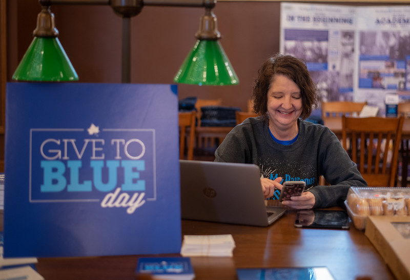 Give to Blue Day