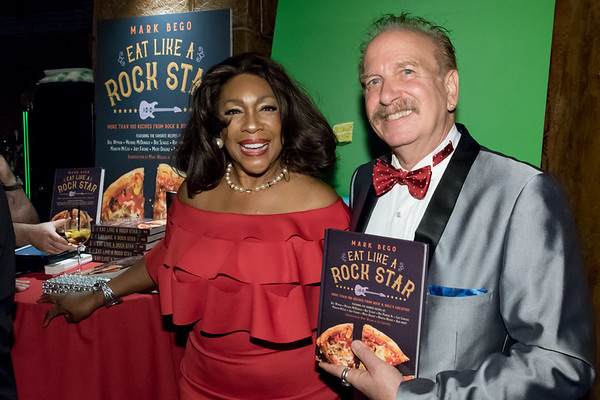 "October 19, 2017 Mark Bego's ""Eat Like a Rock Star"" Book Party at The Cutting Room"