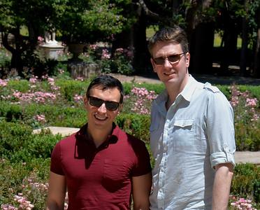 Guy  and Dan Chile Visit 2015
