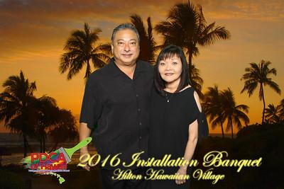 PDCA 2016  Installation Banquet