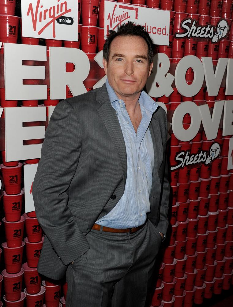 """. Actor Billy Smith arrives at the premiere of Relativity Media\'s \""""21 And Over\"""" at the Village Theatre on February 21, 2013 in Los Angeles, California.  (Photo by Kevin Winter/Getty Images)"""