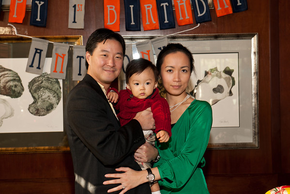 Anthony Choi's 1st Birthday
