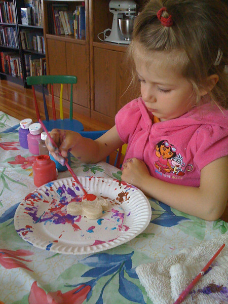 """Painting the """"cookies"""""""