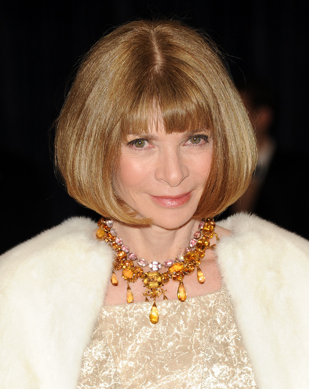. Vogue editor-in-chief Anna Wintour attends the White House Correspondents\' Dinner at the Washington Hilton on Saturday April 27, 2013 in Washington. (Photo by Evan Agostini/Invision/AP)