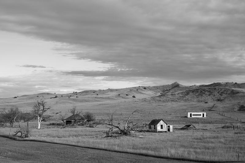 Western South Dakota Old Homestead