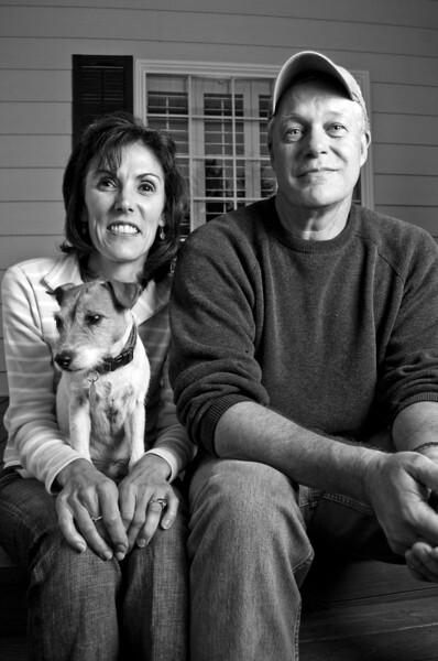 Judy and Mark; Bay City, Oregon