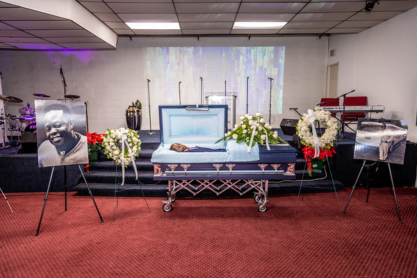 Robert C. D. Marshall II - Celebration of Life (Open Coffin - Family Only)