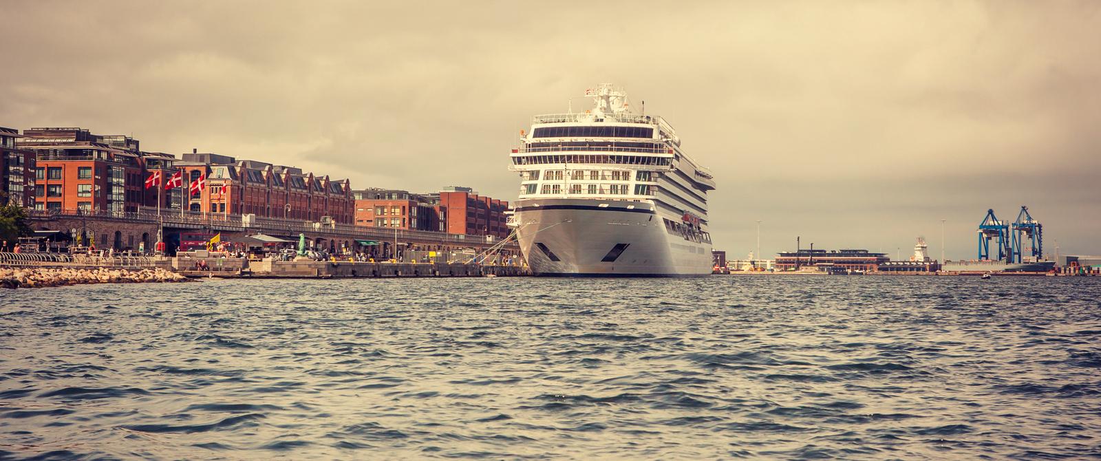 丹麥哥本哈根,坐遊船看城容