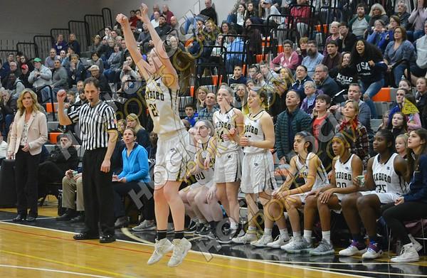 Foxboro - Pentucket Girls Basketball 3-14-18