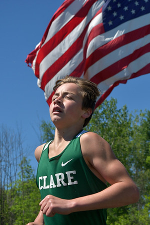 Clare hosts  MITCA track finals boys 5-29-21