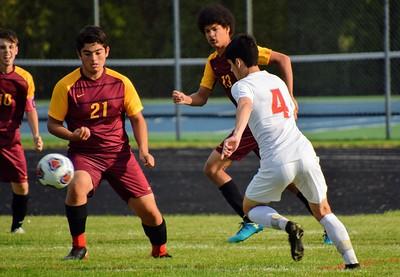 HS Sports -  Grosse Ile vs. Riverview Boys Soccer 19