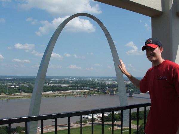 2005 June St Louis Trip taken by Bea Songer