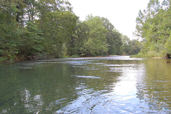 Journal Site 77:  Paddling Jack's Ford & Current Rivers, Ozark National Scenic Riverways, Missouri - August 22 - 25, 2007