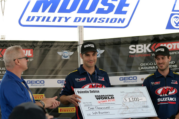 Nick at World Super Bike WSBK