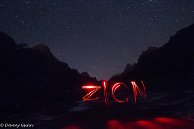 Zion National Park (Night)