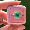 2.57ct Colombian Emerald Halo Ring, AGL-certified 4