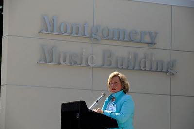 Montgomery Music Bldg Dedication