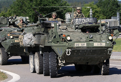 2nd Cavalry Convoy Training July 2019