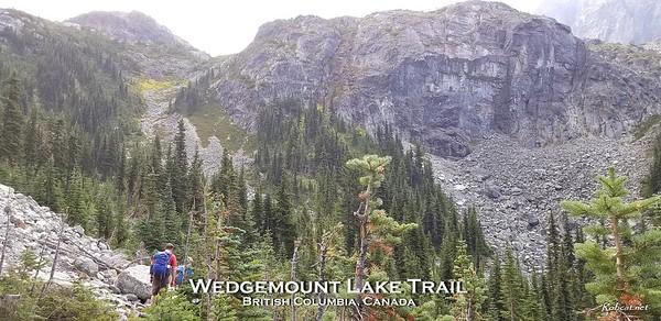 Wedgemount Lake Trail - BC, Canada