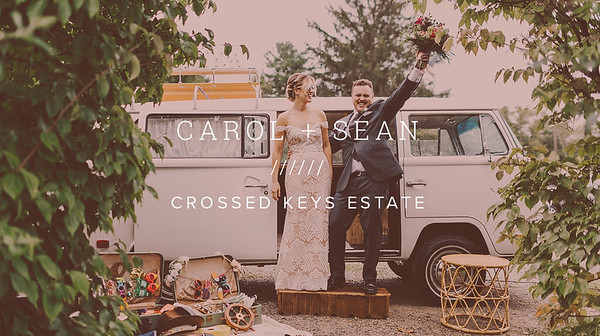 CAROL + SEAN ////// CROSSED KEYS ESTATE