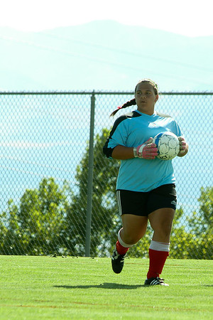 East High Varsity Women's Soccer 2012
