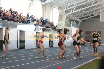 1600M Relay Women - 2013 GLIAC Indoor Track & Field Championship