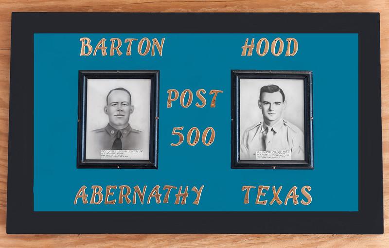 American Legion, Barton-Hood Post 500, Abernathy, Texas