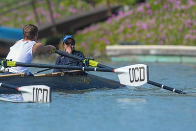 UC Davis MV8 @ 2015 Stanford Invitational Rowing Classic, Redwood Shores, CA
