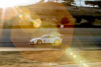 Porsche 911 GT3 Cup Series at Laguna Seca