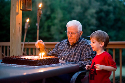 Pop's 85th Birthday Party