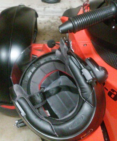 Lidlox Item 1004 7/8 Universal on a Can-Am Spyder RS