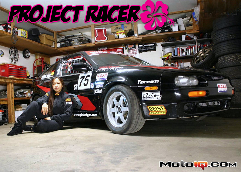 Annie Sam Project Racer