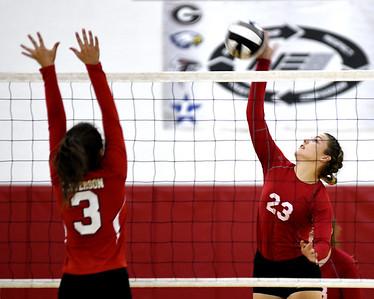 Geneva at Jefferson volleyball Sept.15, 2019