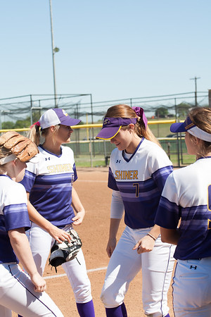 Shiner Lady Softball 3-14-17
