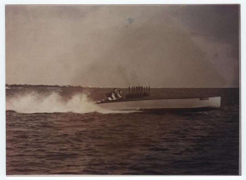 original boat in 1929