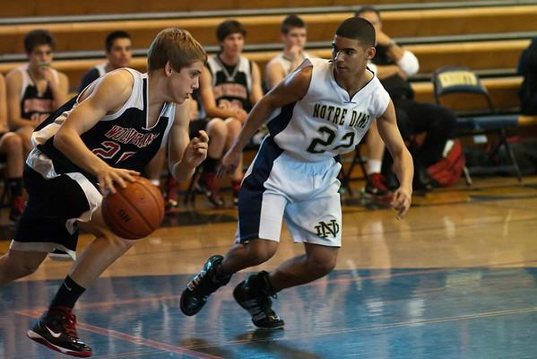 ND Basketball Freshman Harvard Westlake 2