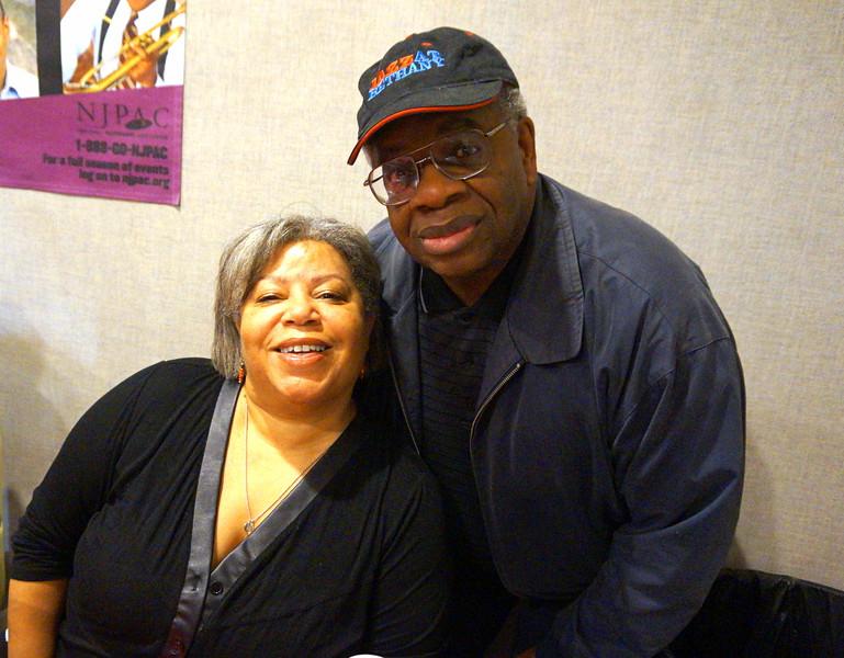Gregory Burrus with Shelia Anderson DJ WBGO Newarkk Jazz Radio -001.JPG