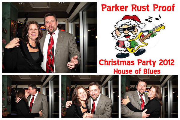 Parker Rust Proof Holiday Photo Booth