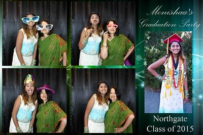 Monishaa's Graduation Party