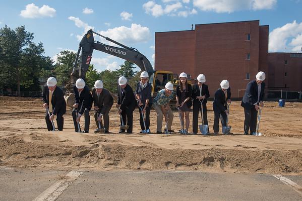 STEM Building Groundbreaking- Sept. 2014