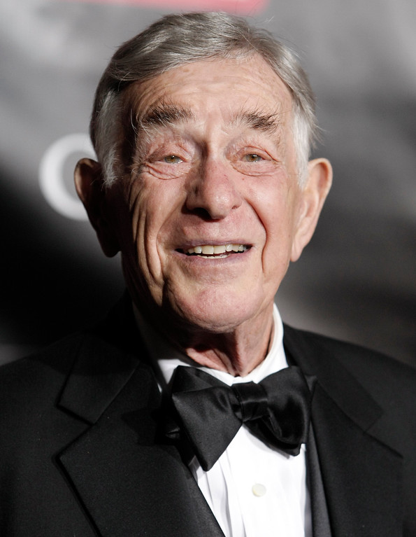 . Actor Shelley Berman poses on the press line at the TV Guide Emmy After Party in Los Angeles on Sunday, Sept. 21, 2008. He died Sept. 1 at age 82. (AP Photo/Dan Steinberg)