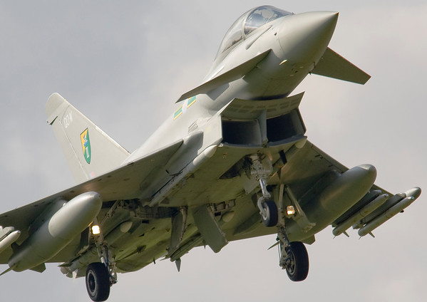 Typhoons at Coningsby